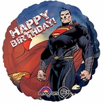 "17"" Superman Man of Steel Birthday Helium Savers Balloon"