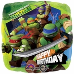 "17"" Teenage Mutant Ninja Turtles Birthday Helium Savers Balloon"