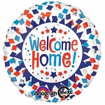 "17"" Welcome Home Confetti Helium Savers Balloon"
