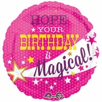 "17""  Magical Birthday Helium Savers Balloon"