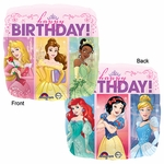 "17"" Multi Princess Dream Big Birthday Helium Saver Balloon"
