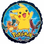 "17"" Pokemon Group Helium Saver Balloon"