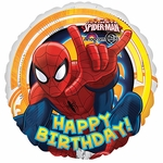 "17"" Spiderman Ultimate  Birthday Helium Savers Balloon"