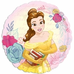 "17"" Standard Beauty & the Beast Helium Saver Balloon"