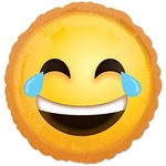 """17"""" Laughing Emoticon Balloon"""