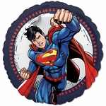 "17"" Standard Superman Character Helium Saver Balloon"