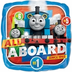 "17"" Standard Thomas the Tank Engine Helium Saver Balloon"