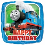 "17"" Standard Thomas the Tank Engine Happy Birthday Helium Saver Balloon"