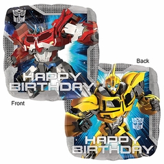17 Standard Transformer Animated Happy Birthday Balloon Licensed
