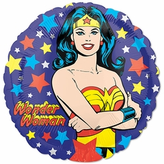 "17"" Standard Wonder Woman Helium Saver Balloon"