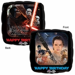 "17"" Star Wars The Force Awakend Birthday Helium Savers Balloon"