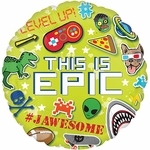 "17"" This is Epic Helium Saver Balloon"