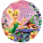 "17"" Tink Happy Birthday Wishes Helium Savers Balloon"
