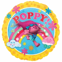 "17"" Trolls Poppy! Helium Saver Balloon"