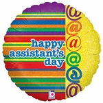 """18"""" Bright & Cherry Assistants Day Balloon"""