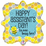 """18"""" Busy Bee Assistant Balloon"""