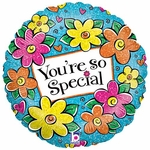 "18"" Floral You're So Special Balloon"