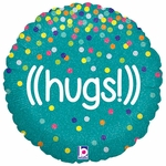 "18"" Glittering Hugs Balloon"