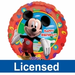 "17""/18"" Licensed Birthday Balloons"