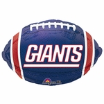 "18"" NFL New York Giants Football Balloon"