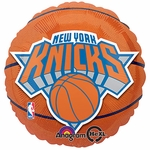 "18"" NBA New York Knicks Basketball Balloon"