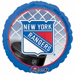"18"" NHL New York Rangers Hockey Balloon"
