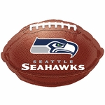 "18"" NFL Seattle Seahawks Football Balloon"