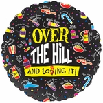 """18"""" Over the Hill & Losing It Balloon"""