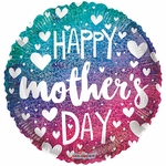 """18"""" PR Mother's Day Gradient Holographic Balloon"""