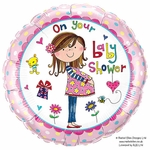 "18"" Rachel Ellen On Your Baby Shower Balloon"