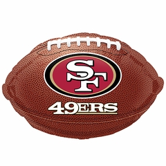 "18"" NFL San Fransisco 49ers Football Balloon"