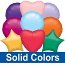 "18""/19"" Solid Color Balloons"