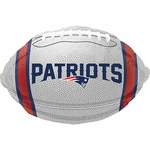 "18"" Standard New England Patriots Team Colors Balloon"