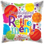 "18"" Congratulations on Your Retirement Balloon"