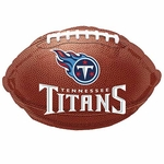 "18"" NFL Tennesse Titans Football Balloon"
