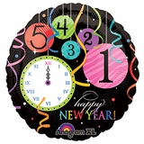 "18"" Wild New Year Balloon"