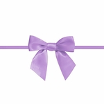 """2.5"""" Lavendar Bow with Ties"""