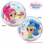 "22"" Shimmer and Shine Bubble Balloon"