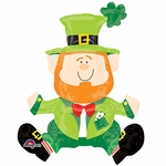 "22"" Sitting Leprechaun Shape Balloon"
