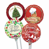 """4"""" Christmas Air-Filled Balloons"""