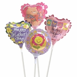 "4"" Mother's Day Air-Filled Balloons"