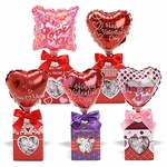 "4"" Valentine Window Box Treat Gift"