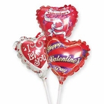 "4"" Valentines Day Air-Filled Balloons"