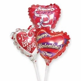 """4"""" Valentines Day Air-Filled Balloons"""