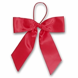 """5"""" Red Satin Bows"""