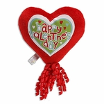 "6"" Mini Hearts Plush Pick w/Corker Bow"