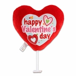 "6"" Happy Valentine's Day Whimsey Plush Pick"