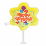 "6"" Happy Birthday Plush Pick"