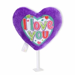 "6"" I Love You Plush Pick"