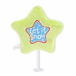 "6"" Let it Snow Plush Pick"